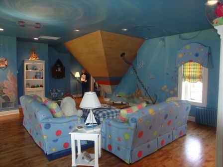 Under The Sea Themed Room - Home Safe